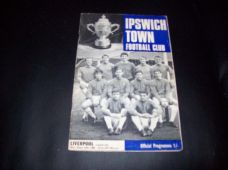 Ipswich Town v Liverpool, 1968/69